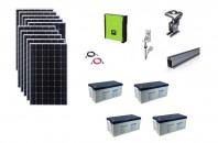 Sistem fotovoltaic hibrid Poweracu 3kwp prindere tabla