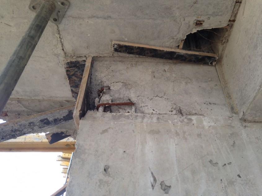 Pregătire suprafețe pentru reparații cu Sistem Penetron la un ansamblu rezidențial