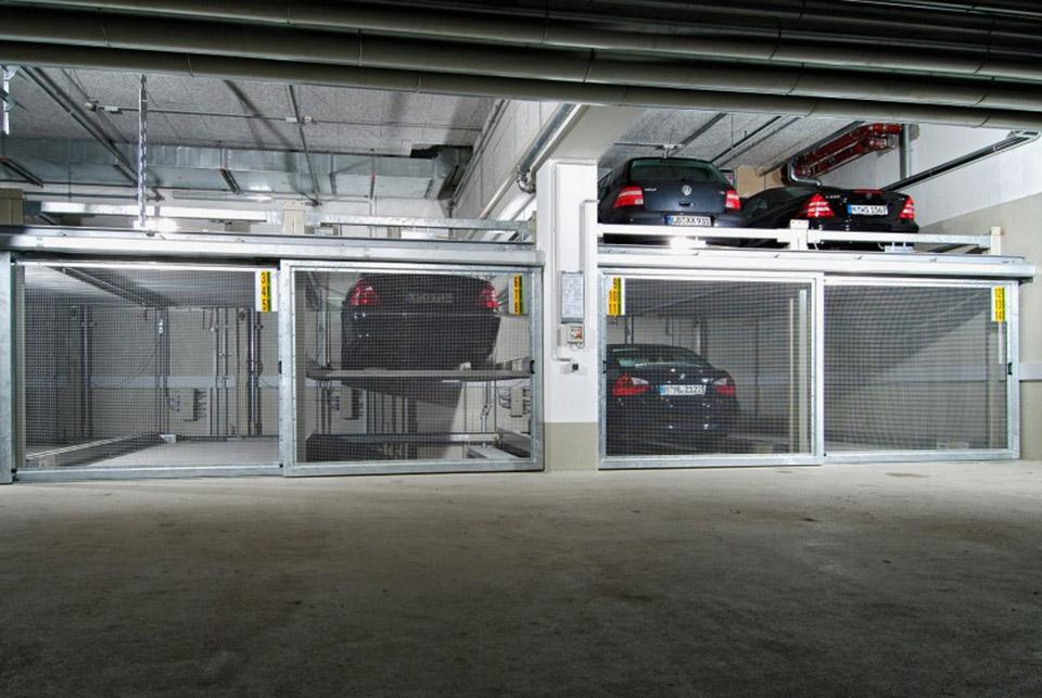 Sistem mecanic de parcare - COMBILIFT 543