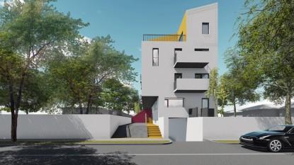 Locuinte colective D+P+2E+M - Bucuresti - str. Peris - 01.9  Bucuresti AsiCarhitectura