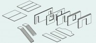 Sistemul Somaco din beton prefabricat pentru rezidential
