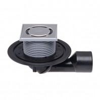 Sifon de pardoseala DN50/75, cu articulatie, obturator de mirosuri - HL80.1