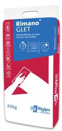 Glet fin Rimano® GLET - Finisare la interior pentru cladiri noi, aplicare manuala