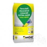 Tencuiala decorativa minerala - Weber MIN 100 - K 1 5 - 20kg Weber Saint Gobain
