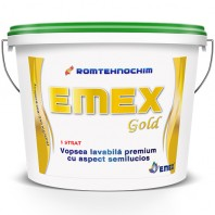 "VOPSEA LAVABILA PREMIUM ""EMEX GOLD"", Alb, Bidon 24 Kg"