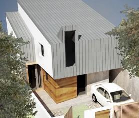 Supraetajare locuinta existenta parter in Parter + Mansarda - Bucuresti, str. Banu Nicolae