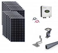 Sistem fotovoltaic on-grid Growatt 5kwp prindere tabla