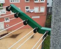 Uscatoare de rufe pentru balcon