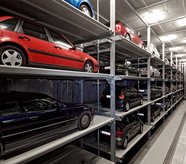 Sistem de parcare automat Multiparker 740