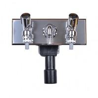 Sifon pentru masina de spalat DN40 50 cu 2 racorduri la apa si robinet de golire