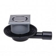 Sifon de pardoseala DN40/50 orizontal cu obturator de mirosuri Primus - HL90Pr