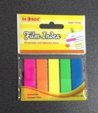 Post-it Index PVC 12 x 45 x 5 GLOBOX/MEMO