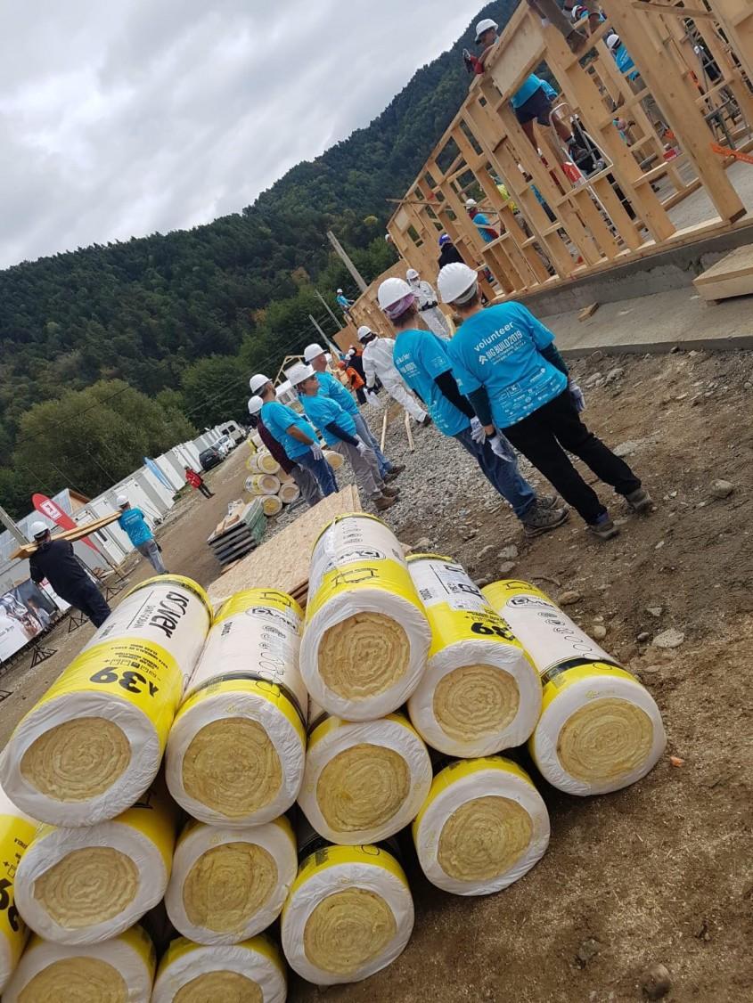 Saint-Gobain participă la BIG BUILD 2019, un proiect Habitat for Humanity România