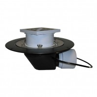 Receptor cu iesire orizontala pentru acoperis circulabil cu element de incalzire (10-30 W 230 V) -