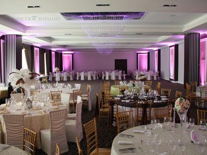 Salonul de evenimente cu sistemul de iluminat  Galati PETEA Sound