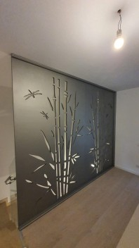 Balustrada / paravan pana in tavan 02