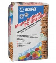 Tencuiala ultrafina, permeabila, pentru finisarea zidariilor umede - MAPE-ANTIQUE FC ULTRAFINE