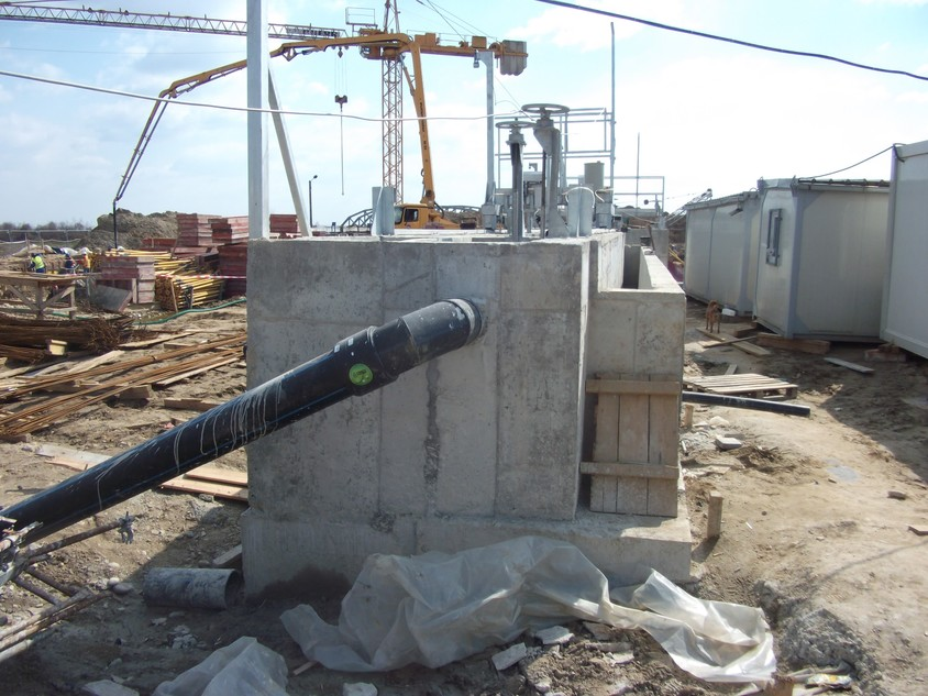 Tratament hidroizolare și reparare structuri din beton existente