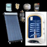Pachet Solar C190 cu boiler mural