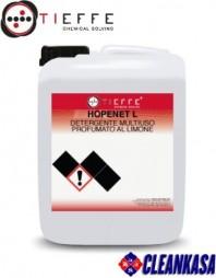 Detergent profesional universal pentru spalat pardoseli textile si dure, concentrat - TIEFFE HOPENET L