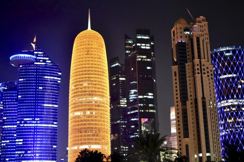 Doha Tower, Doha, 2012