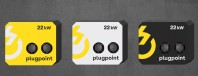Statie de incarcare Plugpoint Wallbox 22kW dubla