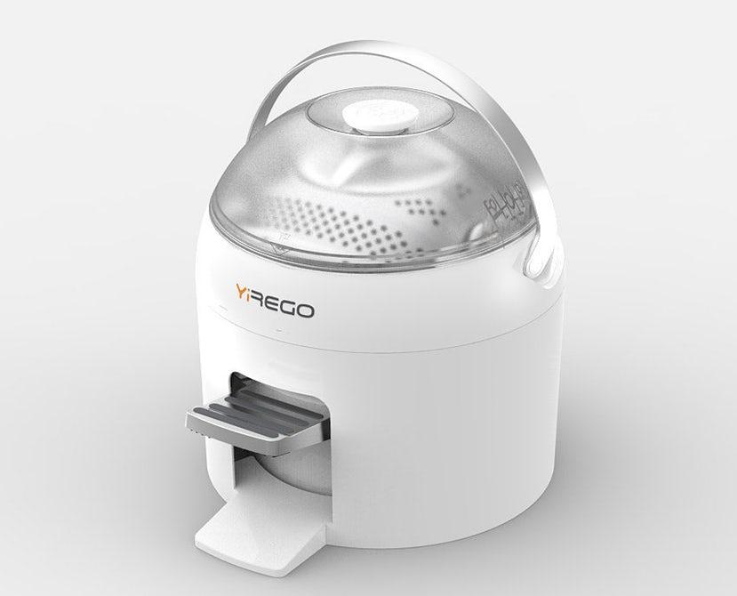 Mașina de spălat portabilă, care funcționează fără curent electric, va fi lansată în curând