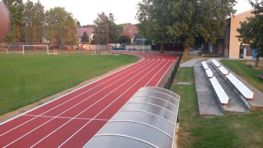 Pista atletism 2.100 mp - Ungaria 2016