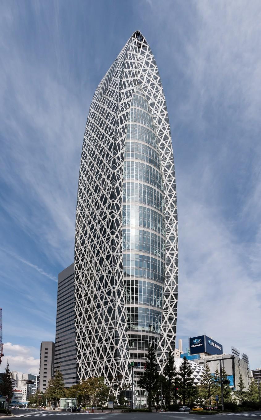 Mode Gakuen Cocoon Tower, Tokyo, 2008