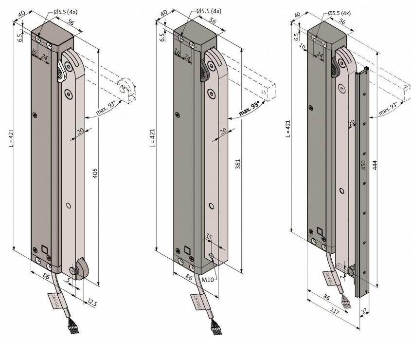 Noua serie de motoare RWA TA60 pentru uși și ferestre
