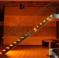 Scara din lemn dreapta sau balansata - EVENT LED