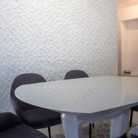 Mozaic Marmura Thassos 3D Scapitata 2.8 x 2.8cm MPN-2045