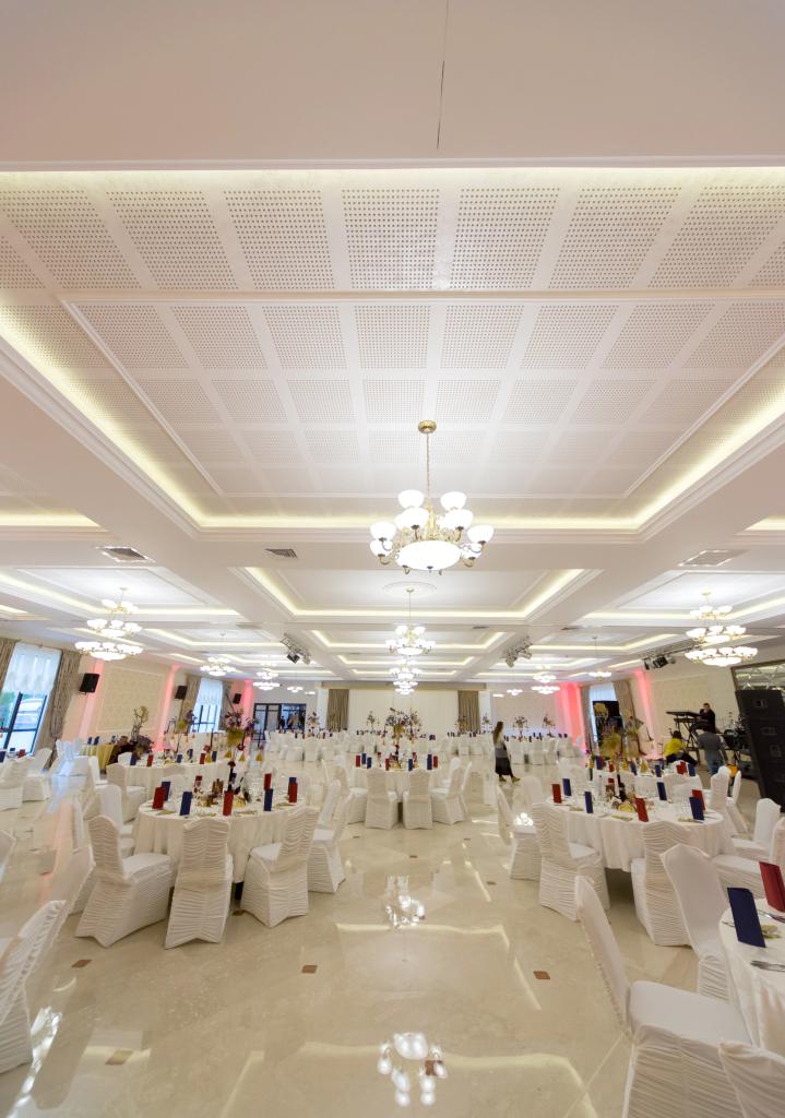 Detalii tavan Ballroom  Botosani SAINT-GOBAIN CONSTRUCTION PRODUCTS ROMANIA - DIVIZIA RIGIPS