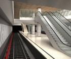 Amenajarea cu piatra naturala a statiilor de metrou de pe magistrala M5