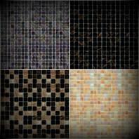 Set de faianta pentru interior - Mozaic pe plasa