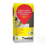 Adeziv pentru placari ceramice la interior - Weber Set ST10 Weber Saint Gobain Romania  APN-1009