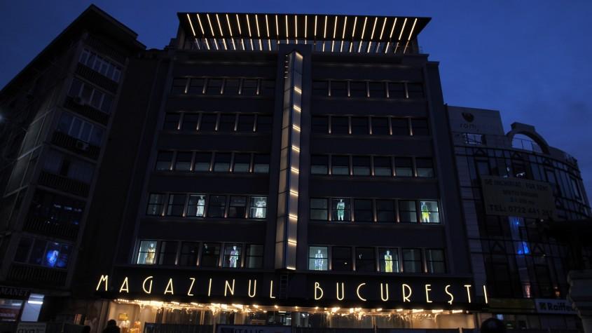 Magazinul Bucureşti va fi redeschis. Cum arată după reconstrucţie clădirea emblematică a Bucureştiului interbelic