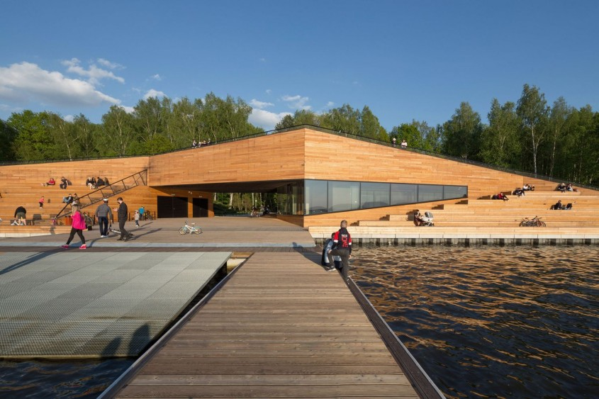 Centrul de antrenament pentru canoe / RS + Robert Skitek / Polonia