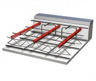 Sistemul de incalzire in pardoseala cu suport pe plasa de sarma sau pe structura de fier