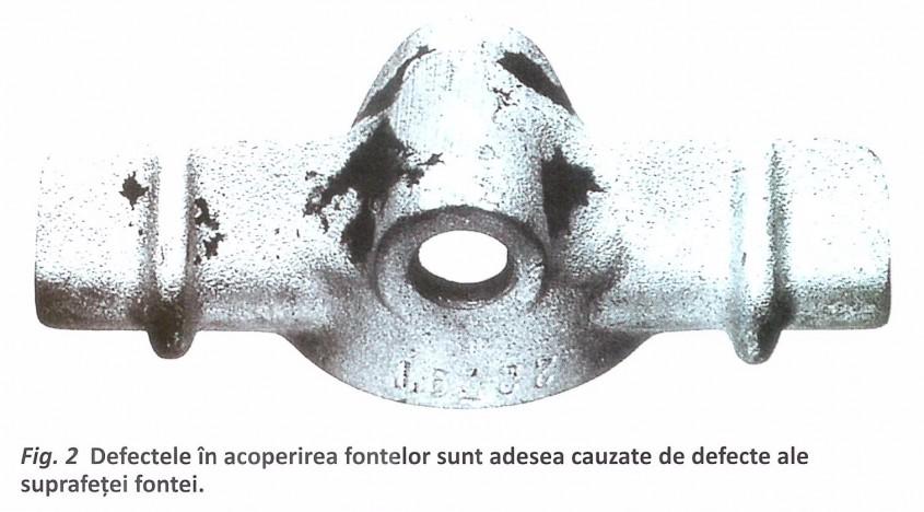 Zincarea termică a pieselor din fontă
