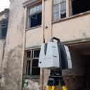 Scanare 3D pentru hale industiale in scopul studierii starii actuale a cladirilor.