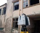 Scanare 3D pentru hale industiale in scopul studierii starii actuale a cladirilor
