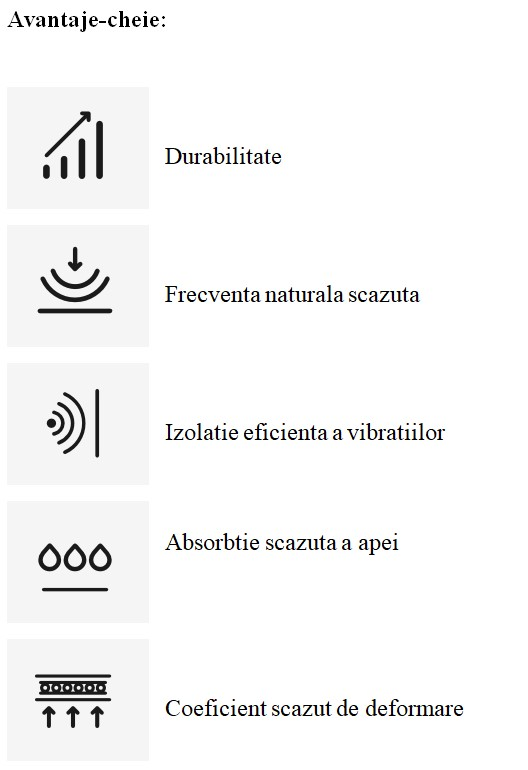 Soluții pe bază de plută pentru controlul vibrațiilor