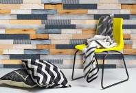 Panouri decorative din lemn si material textil - ©PLADEC Wood and Textile Collection