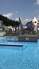 Bazine instalate intr-un parc acvatic din Polonia