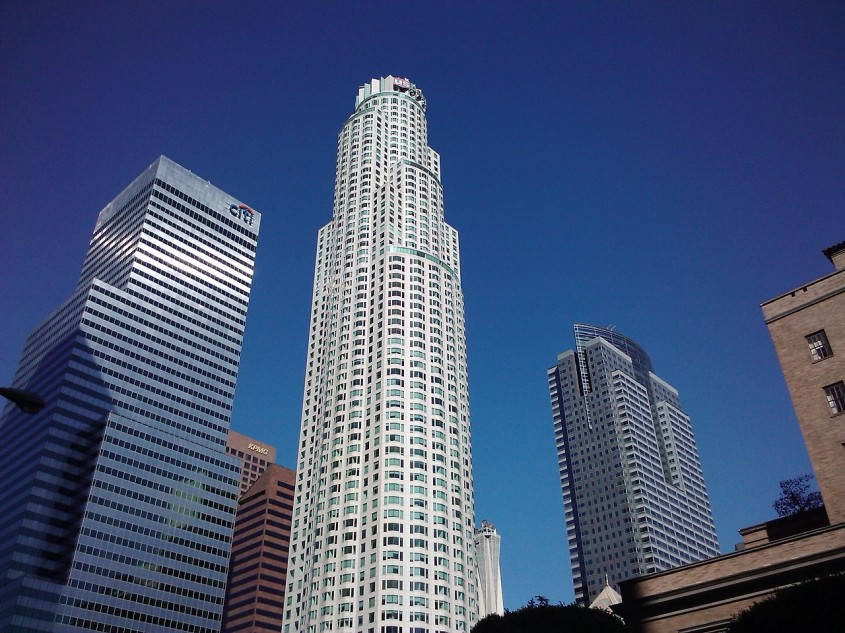 U.S. Bank Tower (anterior Library Tower), Los Angeles, 1990