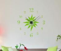 """Sticker tip ceas de perete """"Floare decorativa"""""""