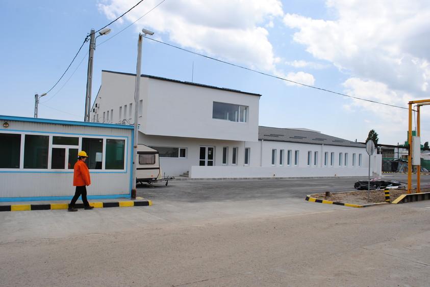 Vestiare pentru angajatii fabricii de pulberi metalice - Buzau 01.23  Buzau AsiCarhitectura