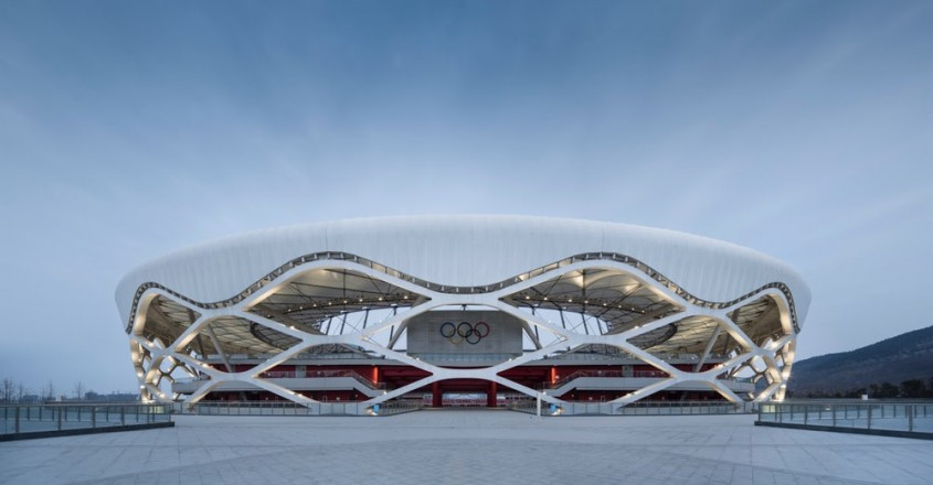 Stadionul Zaozhuang, China - Shanghai United Design Group
