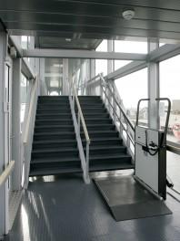 Platforma inclinata pentru scari - HIRO 350